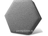 фото вибропрессованной плитки Шестигранник